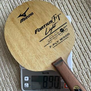 MIZUNO - フォルティウス FT ライト 卓球ラケット ミズノ バタフライ