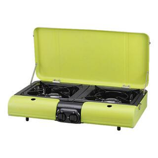 イワタニ(Iwatani)のイワタニ カセットガス テーブルトップBBQコンロ フラットツイン(調理器具)