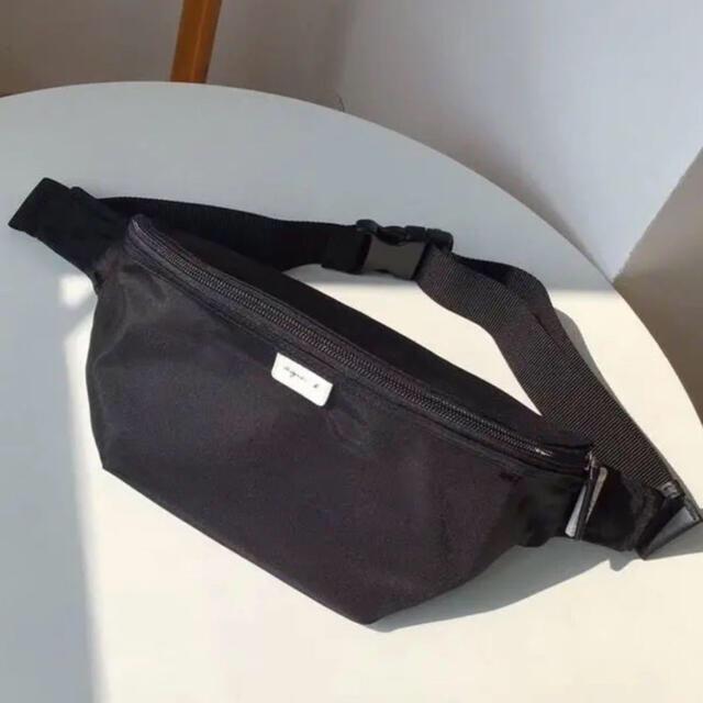 agnes b.(アニエスベー)の最新作アニエスベーウエストショルダーバック日本正規品OUTLET店入荷SALE中 レディースのバッグ(ボディバッグ/ウエストポーチ)の商品写真