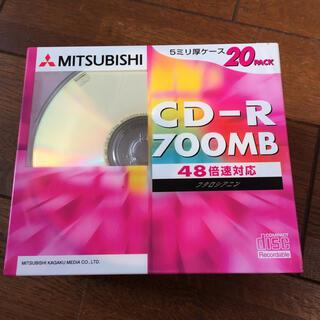 ミツビシ(三菱)の新品未開封MITSUBISHI CD-R700MB 20pack(その他)