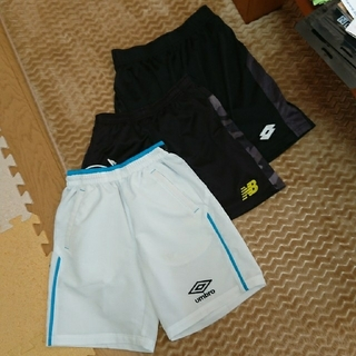 UMBRO - サッカー パンツ 3枚セット 150