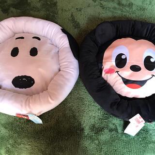 ディズニー(Disney)の犬猫キャラクターカドラーベッド2個組み!(犬)