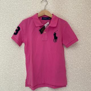 ラルフローレン(Ralph Lauren)の新品未使用 ピンクポロシャツ 120cm(Tシャツ/カットソー)