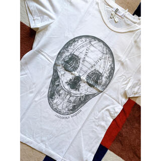アレキサンダーマックイーン(Alexander McQueen)のAlexander McQueen アレキサンダーマックイーン トップス(Tシャツ/カットソー(半袖/袖なし))