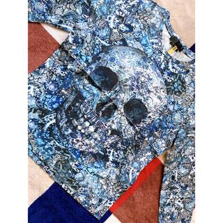アレキサンダーマックイーン(Alexander McQueen)のAlexander McQueen アレキサンダーマックイーン トップス(Tシャツ/カットソー(七分/長袖))