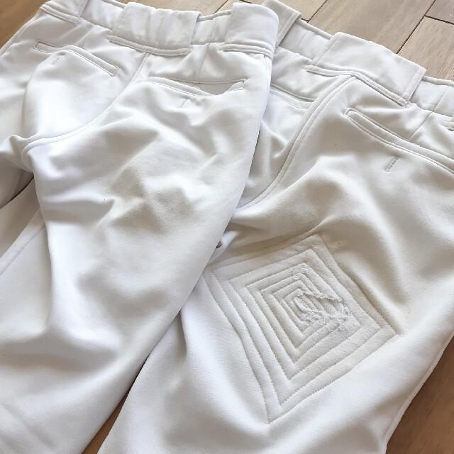 MIZUNO(ミズノ)のmizuno*140*野球*ズボン*2枚セット*美品*練習*パンツ*ZETT  スポーツ/アウトドアの野球(ウェア)の商品写真