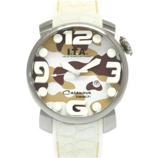 アイティーエー(I.T.A.)のアイティーエー  カサノバビーチ 19.01.01 クオーツ ステ(腕時計(アナログ))