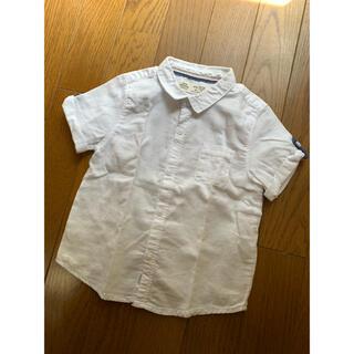 ザラ(ZARA)のZara Baby 白シャツ 12/18 86㎝(シャツ/カットソー)