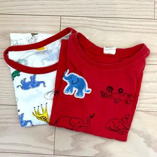 moujonjon半袖Tシャツ(2枚セット)(Tシャツ/カットソー)