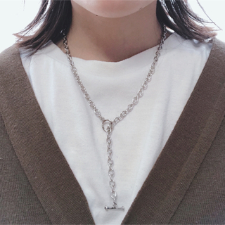 TODAYFUL - silver chain necklace