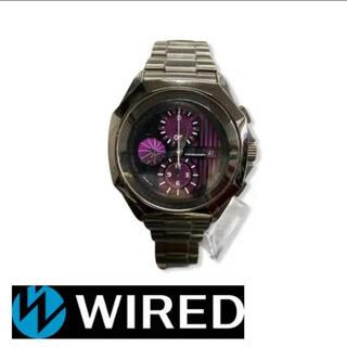 ワイアード(WIRED)のWIRED ワイアード アナログ ステンレス 腕時計(腕時計(アナログ))