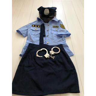 コスプレ 警察 婦人警官 警察官 ポリス POLICE(衣装一式)