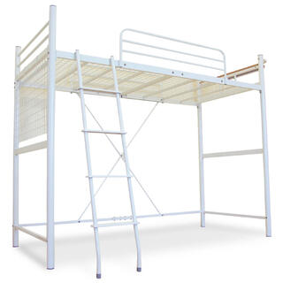 LOWYA ロウヤ セミダブルロフトベッド はしご付き(ロフトベッド/システムベッド)