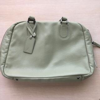 ツチヤカバンセイゾウジョ(土屋鞄製造所)の【土屋鞄製造所】ミントグリーン ハンドバッグ(ハンドバッグ)
