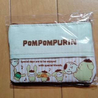 ポムポムプリン(ポムポムプリン)の🧡匿名配送 ポムポムプリン 新品 ティッシュカバー ポーチ(キャラクターグッズ)