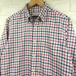 マッキントッシュフィロソフィー(MACKINTOSH PHILOSOPHY)の美品 Mackintosh Philosophy ギンガムチェックドレスシャツ(シャツ)