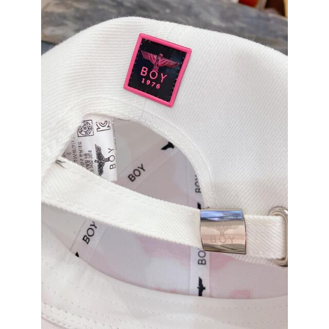 Boy London(ボーイロンドン)のBOY LONDON (ピンク) ラメ キャップ 帽子 レディースの帽子(キャップ)の商品写真