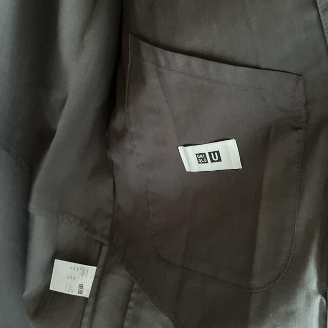 UNIQLO(ユニクロ)の【新品】ユニクロ ユー 2021  ステンカラーコート S メンズのジャケット/アウター(ステンカラーコート)の商品写真