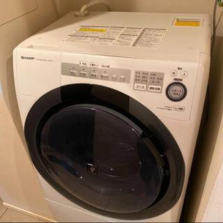 ドラム式洗濯乾燥機 SHARP ES-S7C(洗濯機)