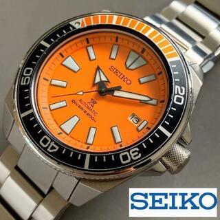 セイコー(SEIKO)のセイコー オレンジサムライ ダイバー SEIKO PROSPEX メンズ腕時計(腕時計(アナログ))