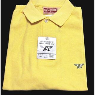 アヴィレックス(AVIREX)の90s・アヴィレックス・ U.S.生産・ポロシャツ・新品・送料込(ポロシャツ)