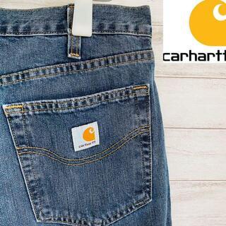 carhartt - 【人気】カーハート Carhartt デニムパンツ リラックスフィット 古着