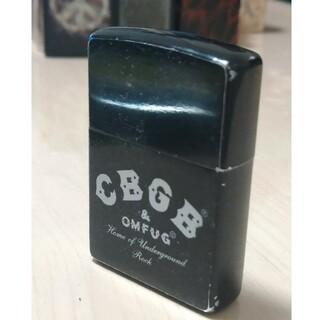 ジッポー(ZIPPO)の【廃盤美品】「CBGB & OMFUG」モデルZIPPOジッポー「ロゴ」(タバコグッズ)
