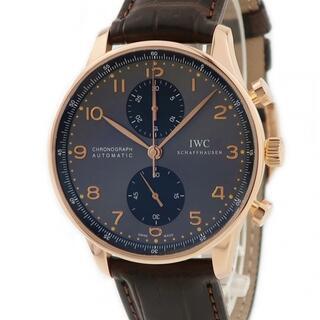 インターナショナルウォッチカンパニー(IWC)のIWC  ポルトギーゼ クロノ IW371482 自動巻き メンズ 腕時(腕時計(アナログ))
