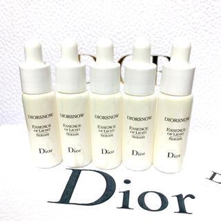ディオール(Dior)のディオール スノー アルティメット エッセンス オブ ライト 35ml(美容液)