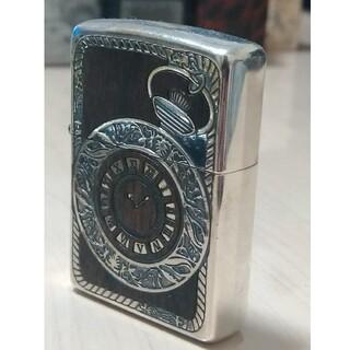 ジッポー(ZIPPO)の【美品】2013年製「アンティーク時計」デザインZIPPOジッポー(タバコグッズ)