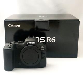 Canon - 【ほぼ新品未使用】CANON EOS R6 おまけあり
