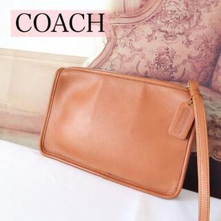 ウェンディズアンドフットザコーチャー(Wendy's & foot the coacher)のb365 COACH オールドコーチ セカンドバッグ クラッチバッグ ブラウン(クラッチバッグ)