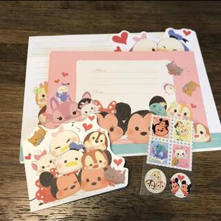 ディズニー(Disney)のDisney  ディズニーツムツム レターセット(カード/レター/ラッピング)