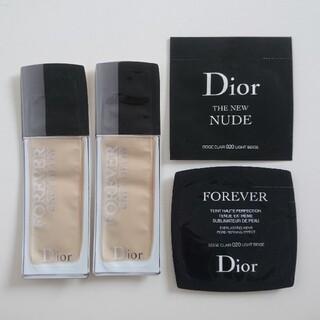 ディオール(Dior)の【お値下げ】ディオール リキッドファンデーション サンプルセット(その他)