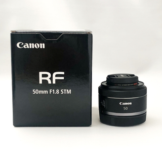 Canon - 【ほぼ新品】CANON RF50mm F1.8 STM フィルター付