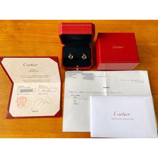 Cartier - cartier カルティエ トリニティ イヤリング