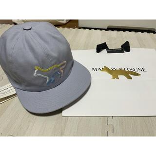 MAISON KITSUNE' - 2020SS MAISON KITSUNE 刺繍 ベースボールキャップ 帽子