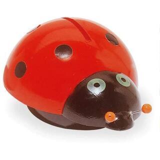 ヴィラック(vilac)のフランス木製玩具 Vilac (ヴィラック) てんとう虫の貯金箱(その他)