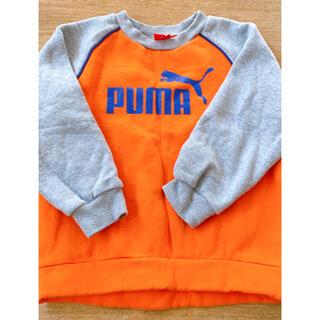 プーマ(PUMA)のPUMA トレーナー 裏起毛 子供 130(Tシャツ/カットソー)