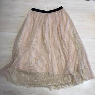 アフタヌーンティー(AfternoonTea)のアフタヌーンティー レーススカート(ひざ丈スカート)