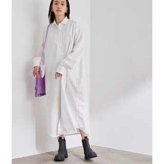 Baserange OLE SHIRT DRESS(ロングワンピース/マキシワンピース)