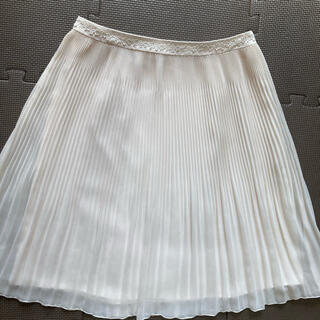 エニィスィス(anySiS)の1度短時間着用のみ エニィスィス プリーツスカート(ひざ丈スカート)