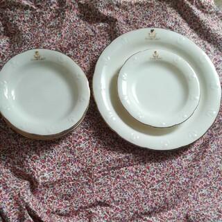 プライベートレーベル(PRIVATE LABEL)の▪ 未使用 ▪ プライベートレーベル パーティー皿 セット 大皿1枚 中皿5枚(食器)