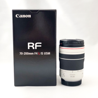 Canon - 【 ほぼ新品】Canon RF70-200mm F4 L IS フィルター付