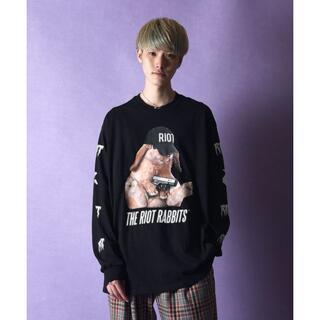 ミルクボーイ(MILKBOY)のMILKBOY RIOT RABBIT L.S. Tシャツ Lサイズ(Tシャツ/カットソー(七分/長袖))