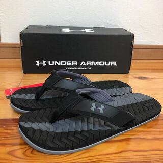 UNDER ARMOUR - 新品タグ付き UNDER ARMOR ビーチサンダル 28