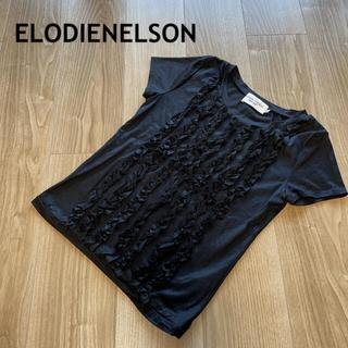 ELODIENELSON Tシャツ ブラック(Tシャツ(半袖/袖なし))