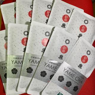八女新茶【上級】桜 100g入×10袋(茶)