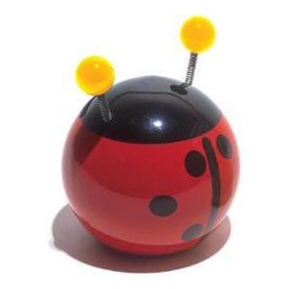 ヴィラック(vilac)のフランス木製玩具 Vilac (ヴィラック) てんとう虫の貯金箱(大)(その他)