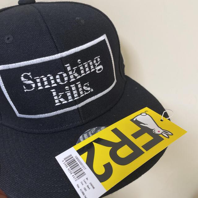 MADE IN WORLD(メイドインワールド)のFR2 メイドインワールド コラボ キャップ メンズの帽子(キャップ)の商品写真